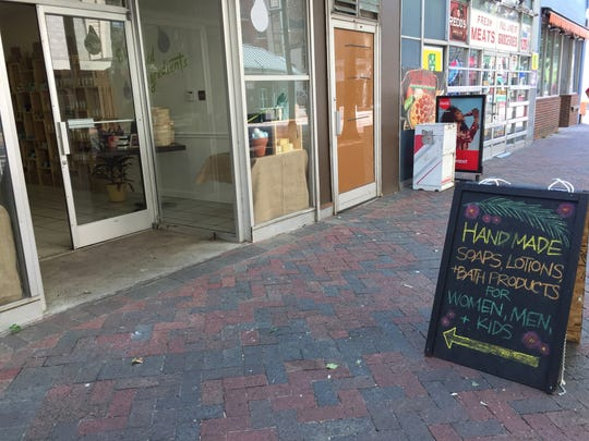 More than 20 small, local businesses have been booked