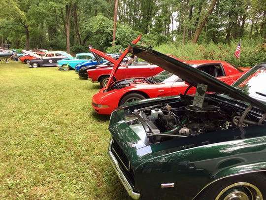 Classic cars on display at Vets Summer Fest in Budd