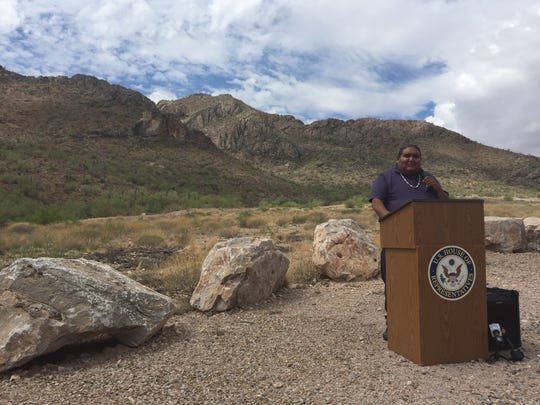 Verlon Jose, vice chairman of the Tohono O'odham Nation,