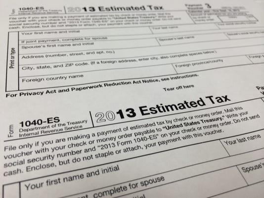 IRS - ESTIMATED TAX PENALTIES