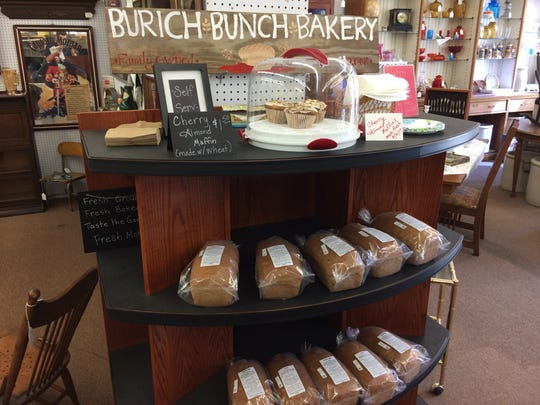 Bread, muffins and bars from Burich Bunch Bakery in