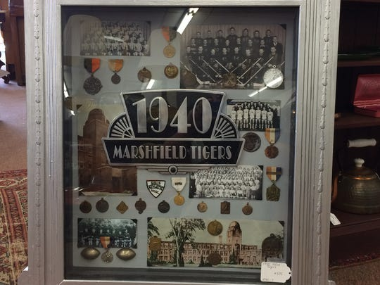Old photos, medals and other goods from Marshfield