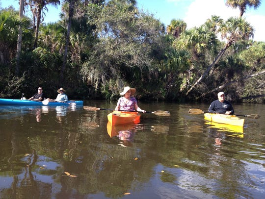 Kayaking in Port St. Lucie