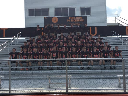 North Union 2017 football team