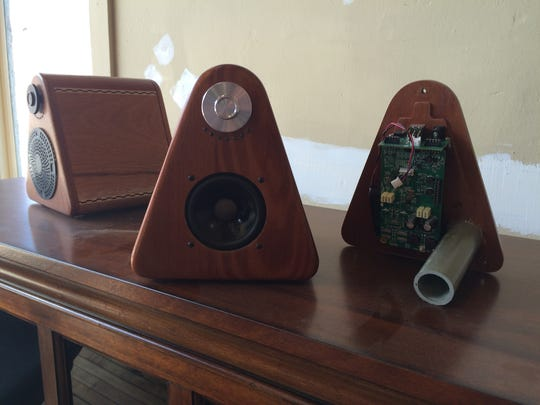 Princeton Audio hand-crafts portable speakers mostly using parts made in Wisconsin.