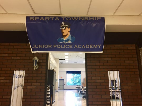 Sparta's Junior Police Academy is taking place this