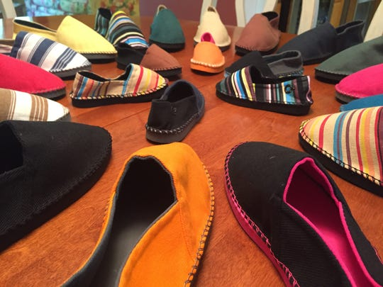 In His Steps is a Christian shoe company run by Beth