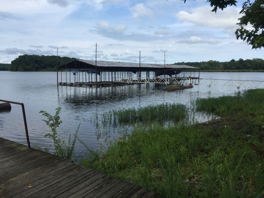 The new operator of Cane Creek Boat Dock on Kentucky Lake in Houston County hopes to clean up and fix up the business in order to open next spring.