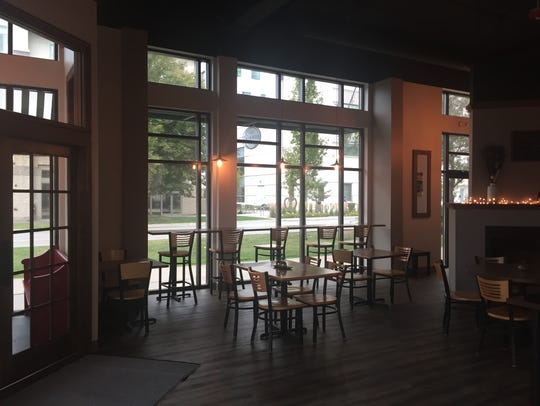Inside The Encounter Cafe at 376 S. Clinton St. in