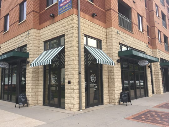 The Encounter Cafe at 376 S. Clinton St. in Iowa City is shown on Aug. 25, 2017.