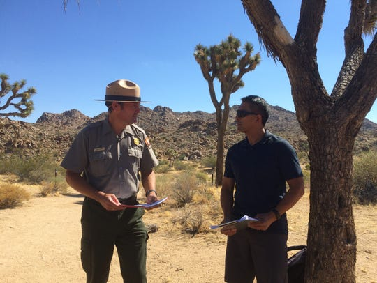Joshua Tree National Park Superintendent David Smith