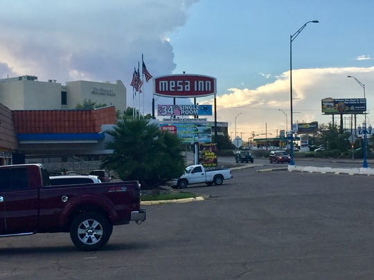 El Paso police are investigating a homicide at the Mesa Inn hotel on Saturday.