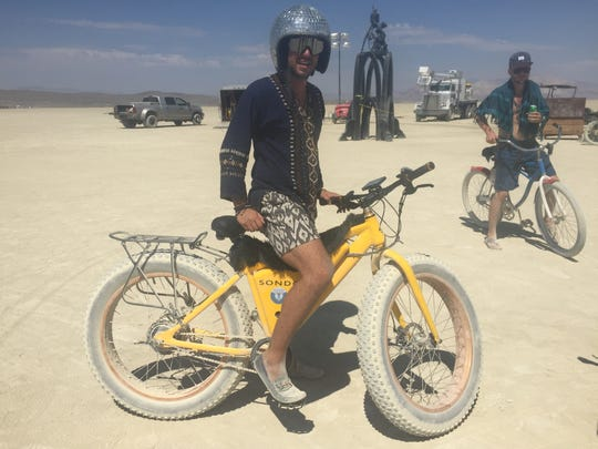 """Peter Pancakes of San Diego: """"My outfit is inspired"""