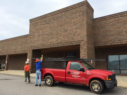 Work is on schedule for a November opening of the new Ferguson Family YMCA in Enka.