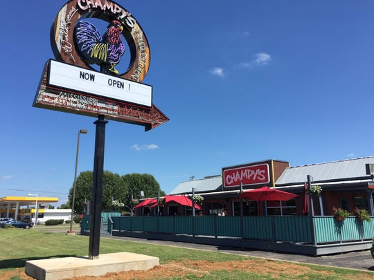 Champy's Famous Fried Chicken is now open at 1310 N.W. Broad St. in Murfreesboro.