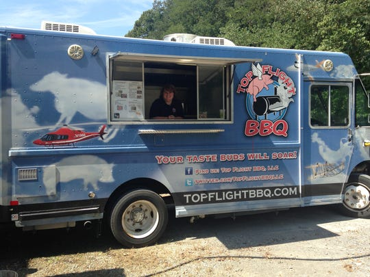Top Flight's food truck can handle all of your catering needs.
