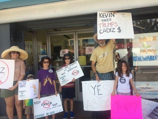 Cadiz protest