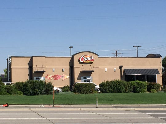 The first Reno Raising Cane's opened in the southern part of the city in January 2014.