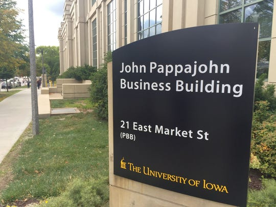 John Pappajohn Business Building on the University