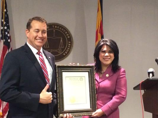 Hero of the Arizona State Treasurer's Office