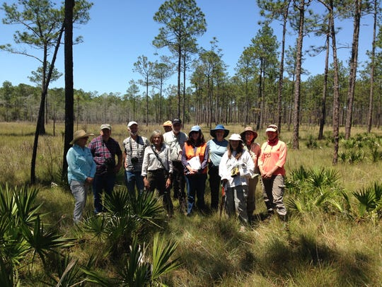 Members of the Friends of the Apalachicola National