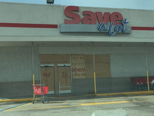 The Save A Lot on Hopkins Avenue in Titusville is all