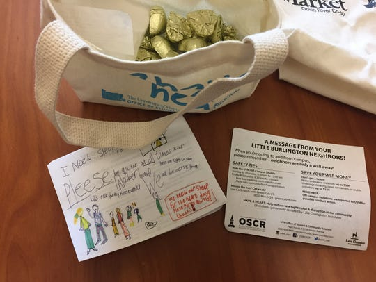 """Materials for UVM's """"Have a Heart campaign, which uses"""
