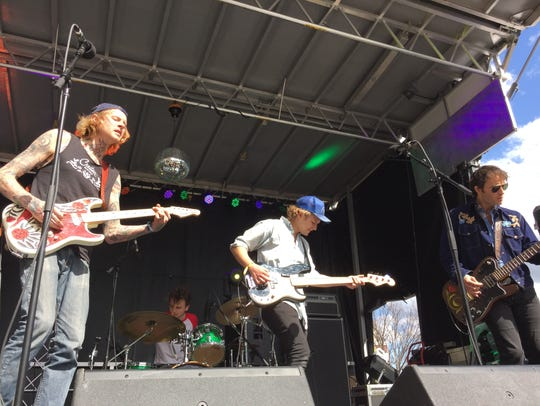 The Welterweights, shown performing in May at the Waking