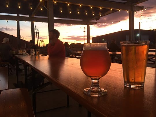 Beers at Confluence Brewing Co.