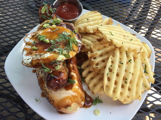 Washoe Public House offers the 808, a sausage, Spam,