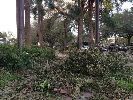 Damage at UCF in Orlando