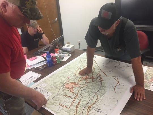 Teton County Sheriff Keith Van Setten and Teton County