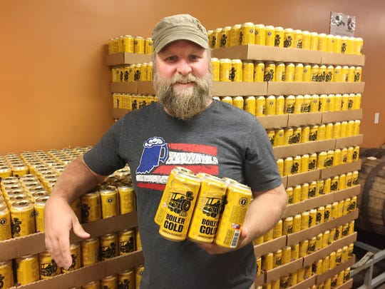 Chris Johnson, owner of People's Brewing Co. in Lafayette,