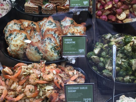 The new Sprouts Farmers Market in South Reno offers an extensive selection of prepared foods.