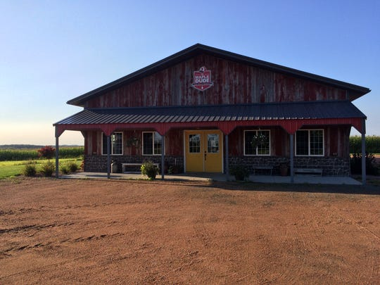 The Maple Dude store where people can buy all of his goodies from maple syrup to bison meat.