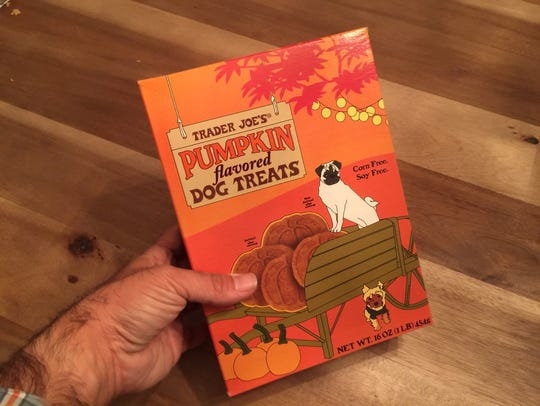 Yes, there are pumpkin spice dog treats.