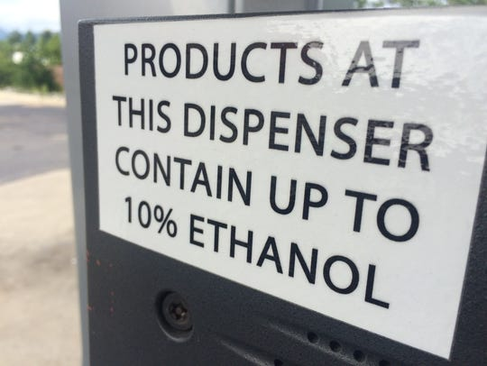 Much local fuel contains up to 10 percent ethanol,