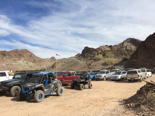 ATVs and four-wheel-drive vehicles offer the only way