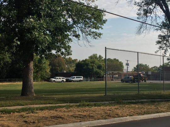 Theodore Roosevelt Education Center in Iowa City has tailgating spots available at both its West Benton Street and Greenwood Drive entrances.