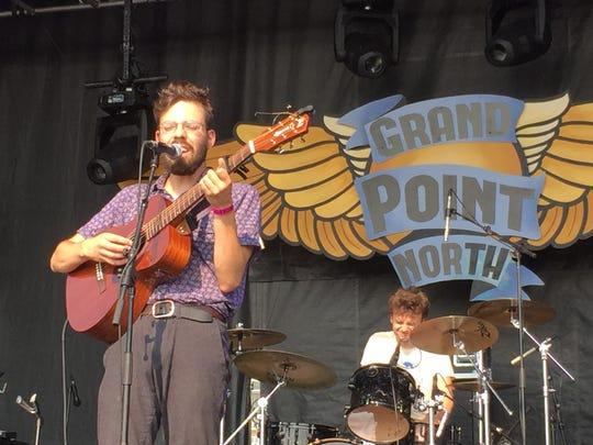 Burlington singer-songwriter Henry Jamison performed