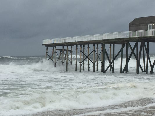 Belmar fishing pier in Jose