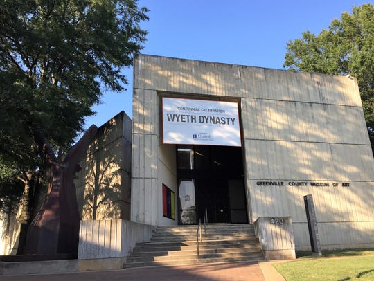 Greenville County Museum of Art: one of Triangle Construction's