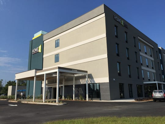 The new Home2 Suites by Hilton at 7753 N. Davis Highway