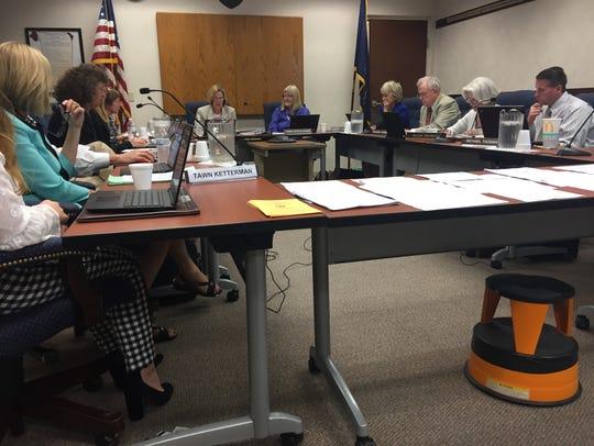 The York Suburban school board met for its regular