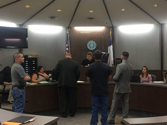 Gabriel Quintanilla appears in court on Sept. 26, 2016.