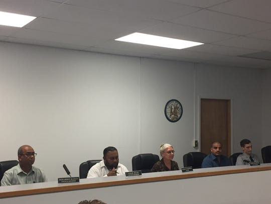 Hamtramck City Council meeting on Sept. 27, 2017, left