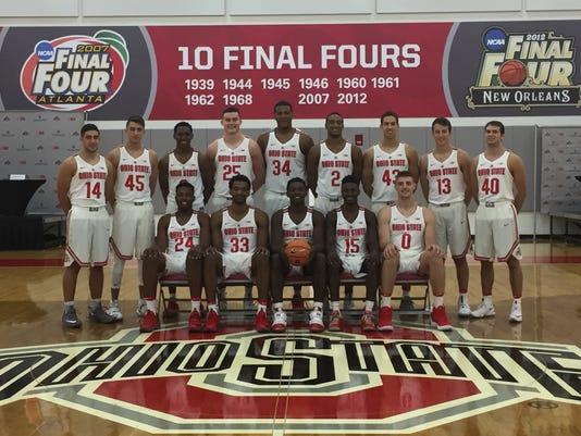 Ohio State 2017-18 men's basketball team