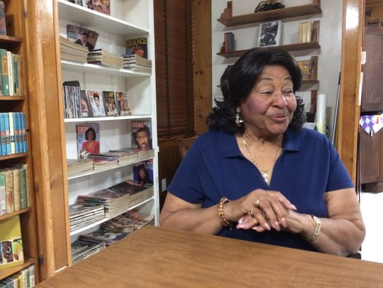 Clara Freeze reminisces about the Dunbar Library, which
