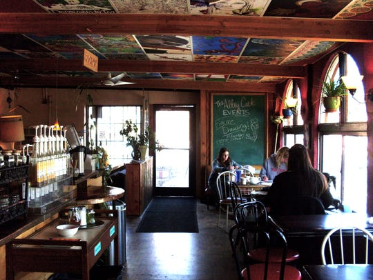 The Alley Cat Cafe in Fort Collins.