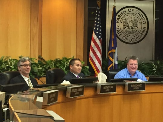 The Caddo Parish Commission passed a resolution asking